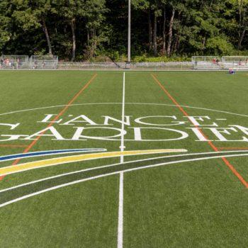 Notre nouveau terrain de soccer synthétique